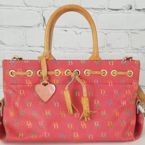 Dooney & Bourke Pink Satchel Purse